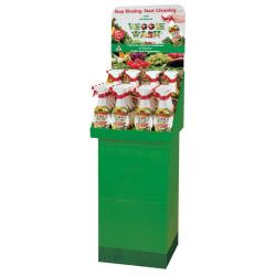Veggie Wash 24-piece Floor Display