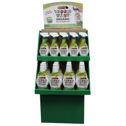 Veggie Wash ORGANIC 32-piece Floor Display