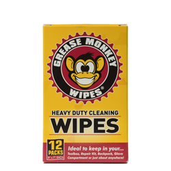 Grease Monkey Wipes Heavy-Duty Individual Wipes, 12-Count